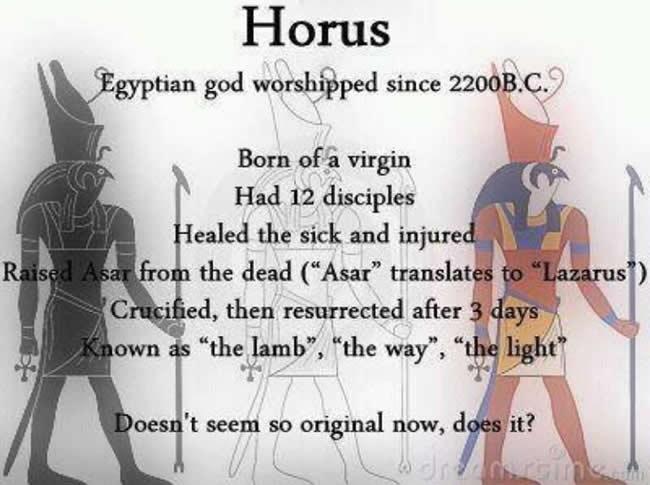 jesus vs horus myth