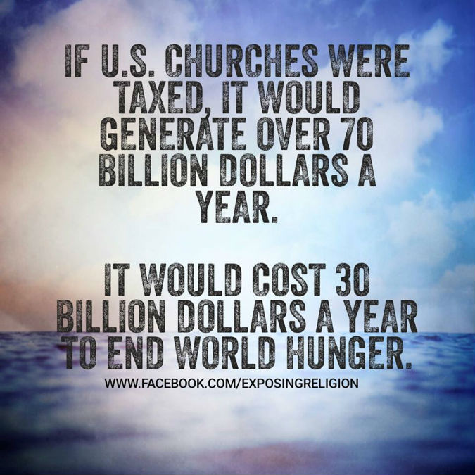 tax churches