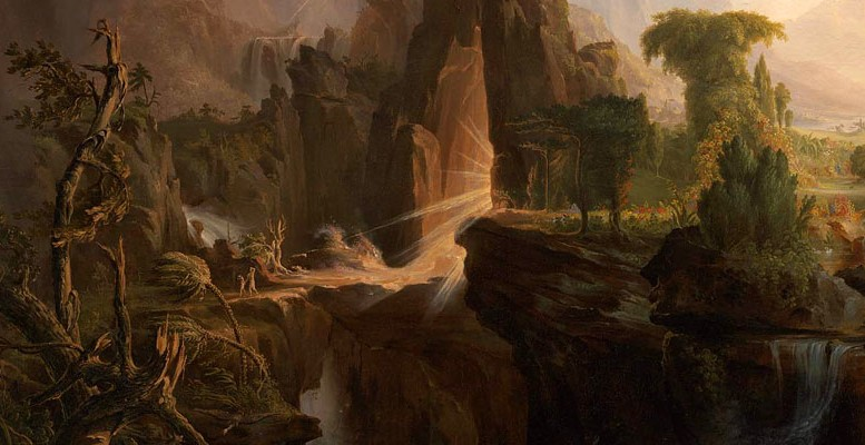 """Expulsion from the Garden of Eden,"" Thomas Cole, 1828"
